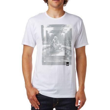 FOX pánské tričko Back Ss Tee M bílá