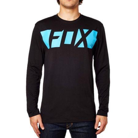 FOX pánské tričko Cease Ls Tech Tee M čierna