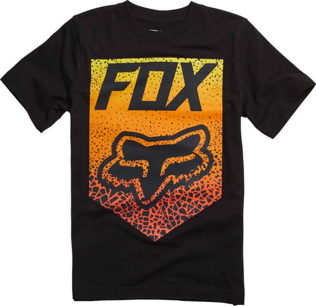 FOX chlapecké tričko Netawaka 140 černá