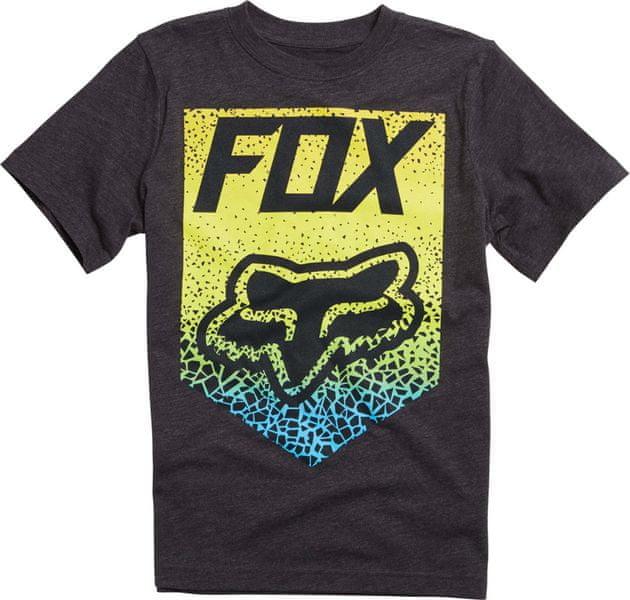 FOX chlapecké tričko Netawaka 140 šedá
