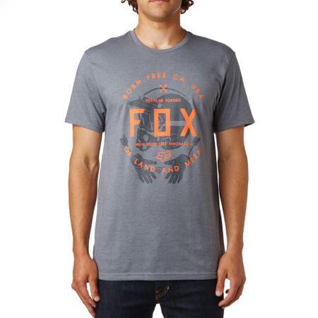 FOX moška majica Claw Ss Tee S siva