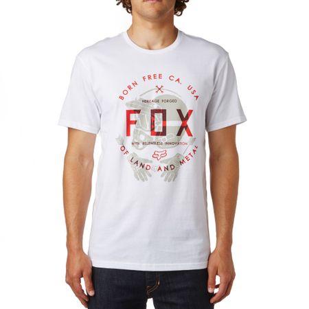 FOX férfi póló Claw Ss Tee L fehér