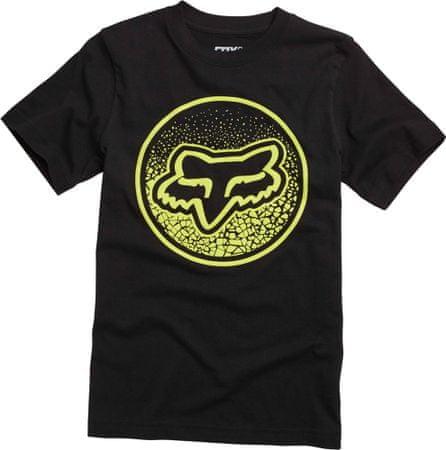 FOX T-shirt chłopięcy Narka Ss Tee 116 czarny