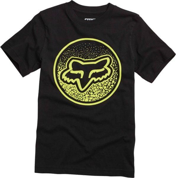 FOX chlapecké tričko Narka Ss Tee 140 černá