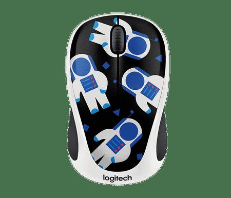 Logitech brezžična miška M238 Spaceman