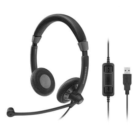 Sennheiser slušalke z mikrofonom SC 70 USB MS
