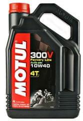 Motul olje 4T 300V Factory Line 10W40, 4 l
