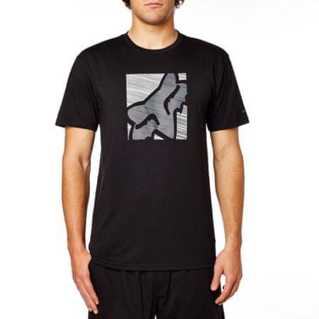 FOX férfi póló Conjunction Ss Tech Tee L fekete