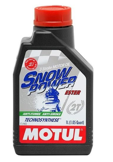 Motul ulje 2T Snow Power, 1 l