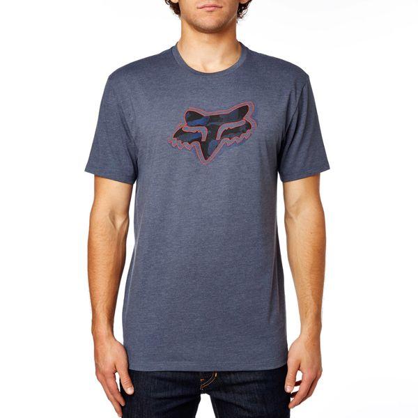 FOX pánské tričko Systematic Ss Premium Tee S šedá