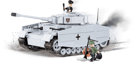 Cobi SMALL ARMY Panzer IV ausf. F1/G/H - niemiecki czołg średni 2481