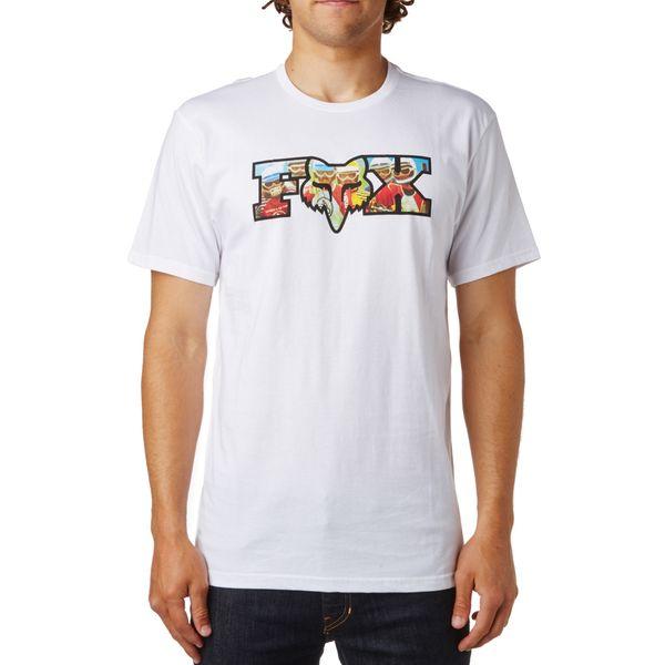 FOX pánské tričko Prefilter Ss Tee M bílá