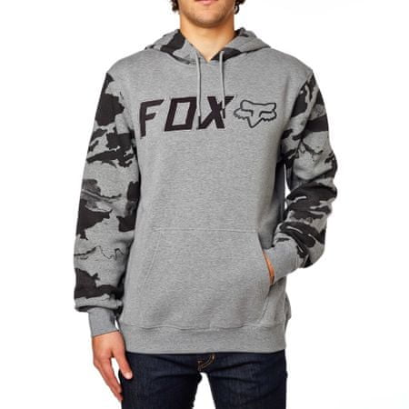 FOX moška jopica Diskors Pullover Fleece XL siva