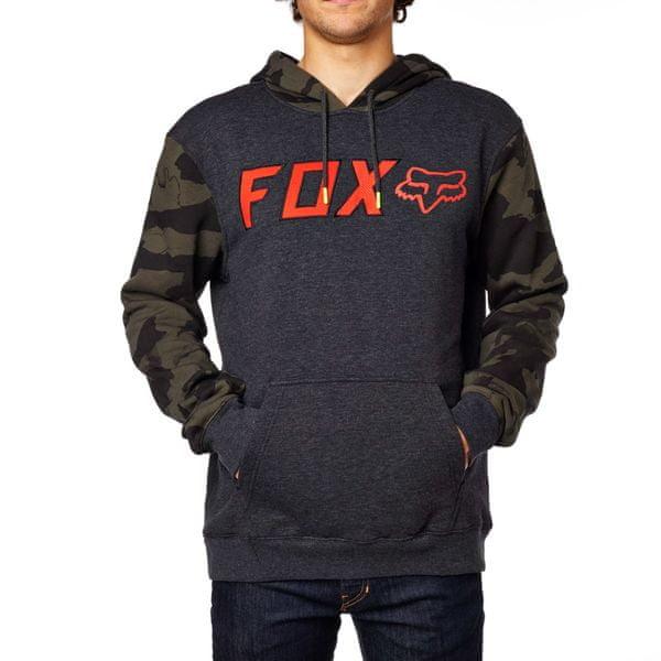FOX pánská mikina Diskors Pullover Fleece L tmavě šedá