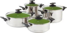Kolimax Cerammax Pro Comfort Sada nádobí 8 ks, zelená