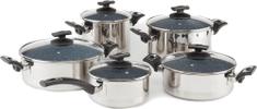 Kolimax Cerammax Pro Comfort Sada nádobí 10 ks, granit šedá