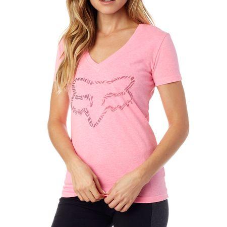 FOX dámské tričko Phoenix V Neck Ss Tee XS ružová