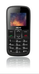 Akai Senior mobiltelefon, fekete