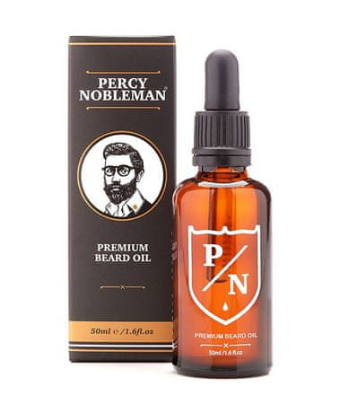 Percy Nobleman zapachowy olejek do brody Premium Scented Beard Oil - 50 ml