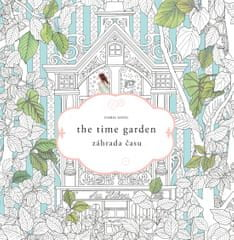 Song Daria  Záhrada času   the time garden-umelecké antistresové maľovanky 219e2920484