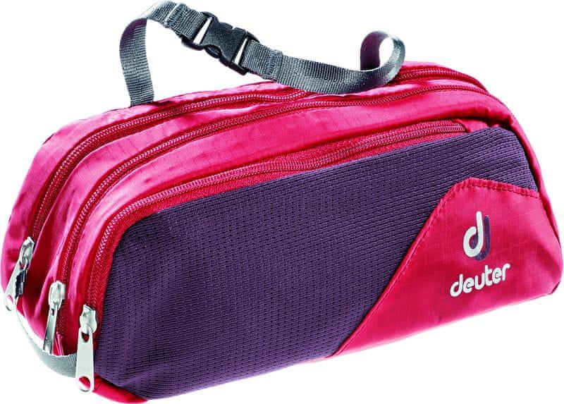 Deuter Wash Bag Tour II fire/aubergine
