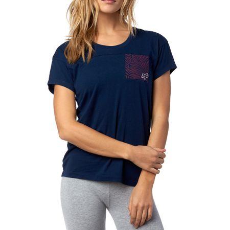 FOX T-shirt damski Initiate Ss S ciemnoniebieski