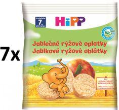 HiPP BIO Jablečné rýžové oplatky - 7x35g