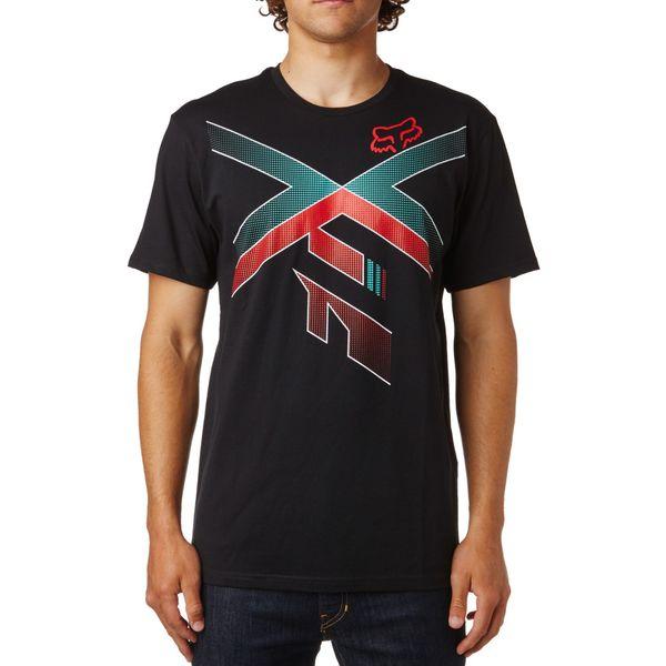 FOX pánské tričko High Speed Ss Tee S černá