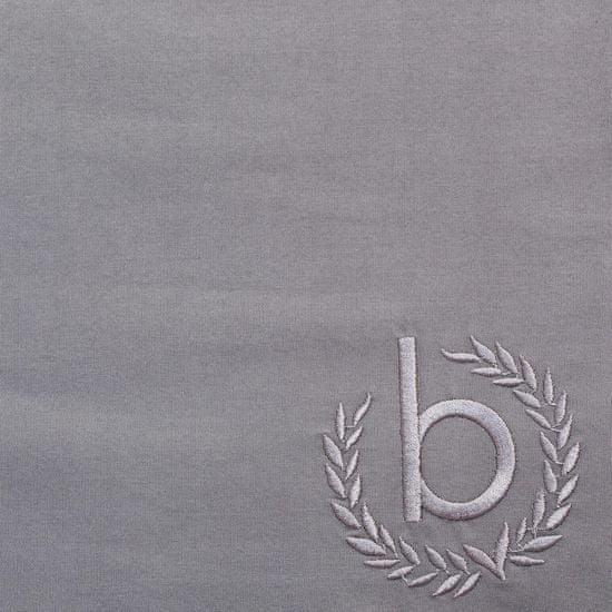 Bugatti posteljnina, 140 x 200 cm, svetlo/temno siva