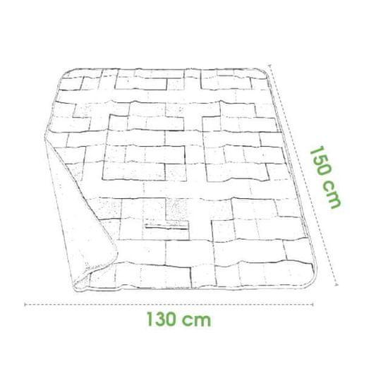 Spokey piknik odeja Spokey PICNIC COLOUR, 130x150
