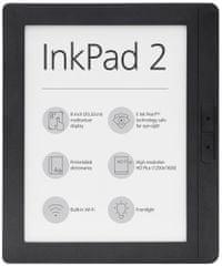 PocketBook czytnik e-booków 840 Inkpad 2 Mist Grey