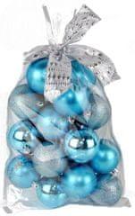 Seizis Set krogel z dodatki v vrečki modre 20 kosov
