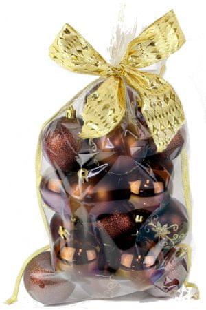 Seizis Set krogel z dodatki v vrečki rjave 20 kosov