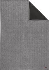 s.Oliver Jacquard Premium Takaró, 140x200 cm, Szürke