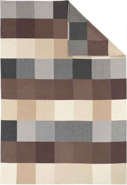 Ibena Jacquard deka Pittsburgh GOTS 140x200 cm