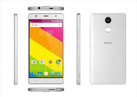Zopo pametni telefon Color F2, 5,5'', 4G LTE, bijeli + zaštitno staklo