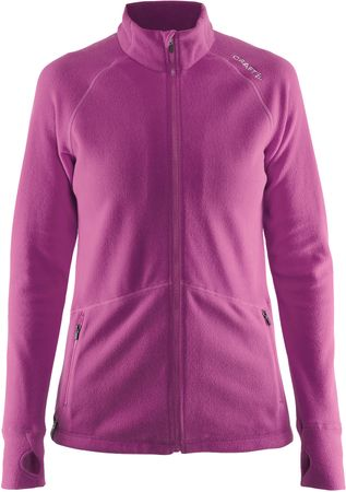 Craft jopa Micro Fleece FZ, roza, L