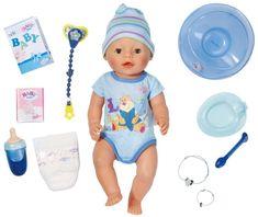 BABY born Lalka interaktywna chłopiec 819203
