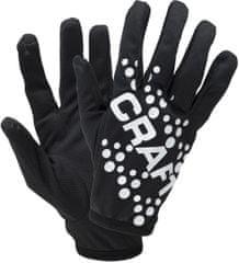 Craft tekaške rokavice Printed Jersey, črne