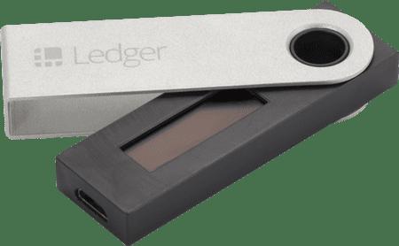 Ledger denarnica za kriptovalute Nano S, USB