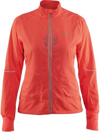 Craft ženska športna jakna Brilliant 2.0 Light, oranžna, XS