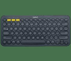 Logitech tipkovnica K380 Multi-Device, temno siva, SLO