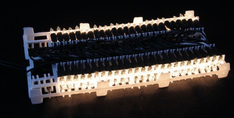Seizis Elektrické osvětlení 100 žárovek bílé