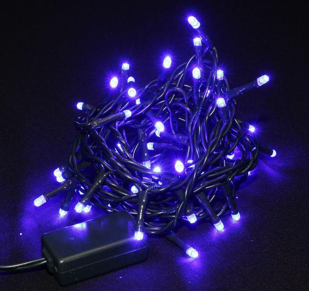 Seizis LED osvětlení 50 žárovek modré