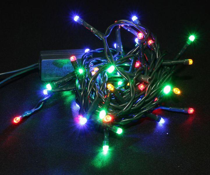 Seizis LED osvětlení 50 žárovek barevné