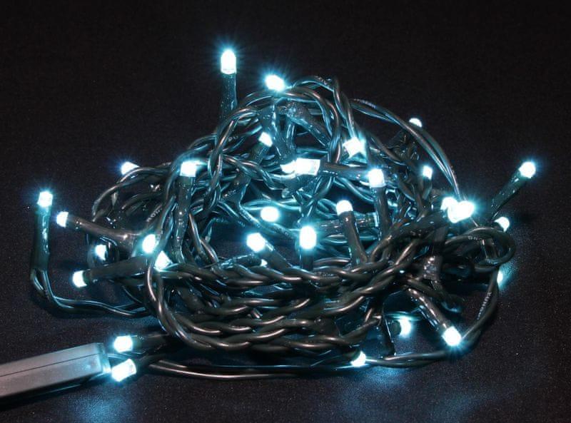 Seizis LED osvětlení 50 žárovek tyrkysové