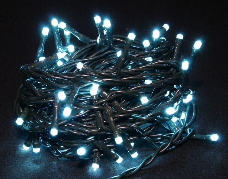 Seizis LED osvětlení 100 žárovek tyrkysové