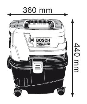 BOSCH Professional GAS 15 PS (06019E5100)