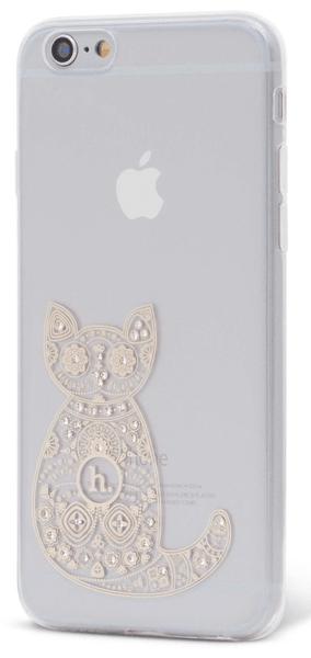 EPICO pružný plastový kryt, iPhone 6/6S HOCO CAT, čirá