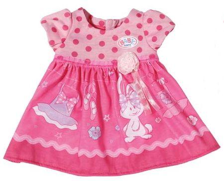 BABY born temno roza obleka